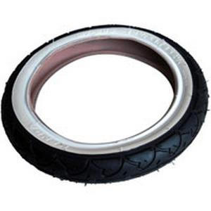 phil&teds 10 inch tyre with white wall_black