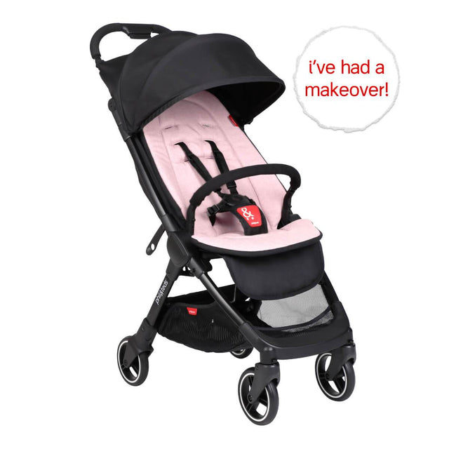go™ 2020+ compact umbrella stroller with blush pink colour liner