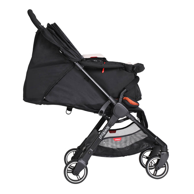 go™ 2020+ compact umbrella stroller with optional removable cocoon from side on