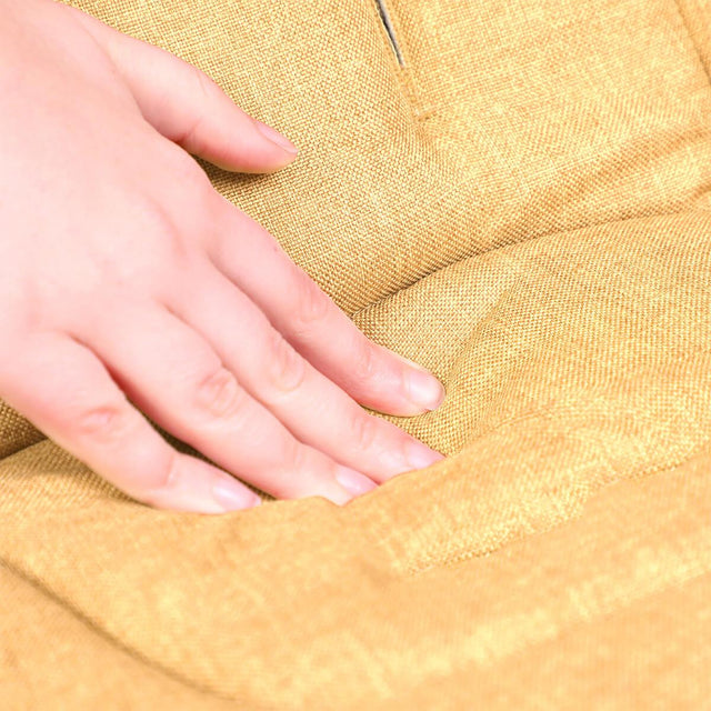 phil&teds cushy ride liner in butterscotch brown is soft to touch close up_butterscotch