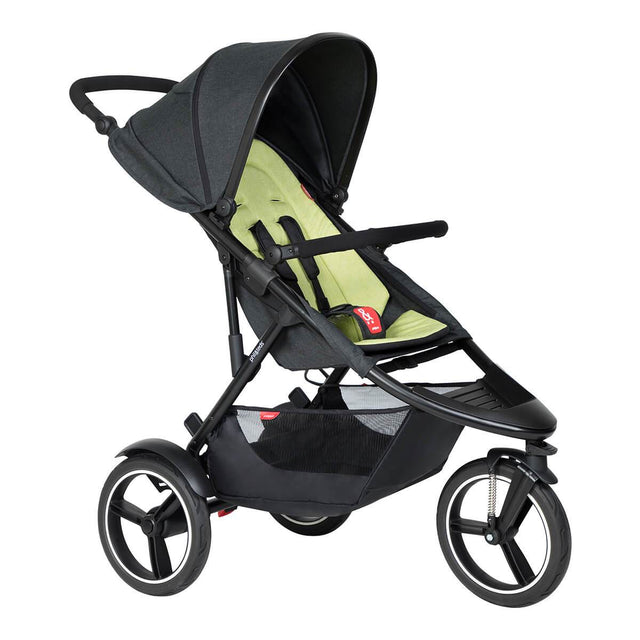 phil&teds dash Buggy in Apfel 3/4 Ansicht_Apfel