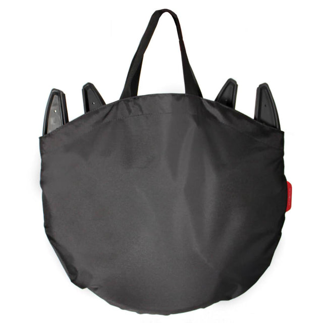 phil&teds lobster high carry bag front view_red