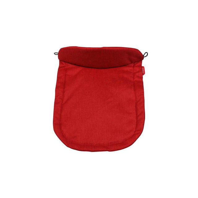 phil&teds carrycot tapa ajustada en color rojo chilli_chilli