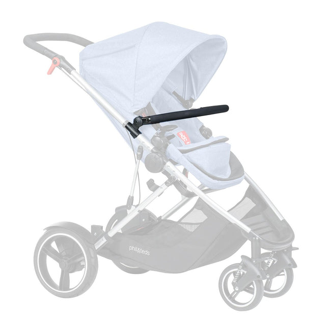 phil&teds voyager   2015-2019 Kinderwagen-Stoßstange bar_black