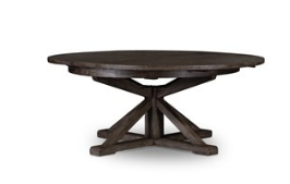 "Cintra 63"" Dining Table - Blk Olive"