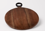 Acacia Wood Cutting Board- Round