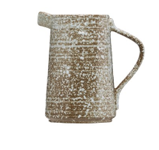 Speckled Brown Pitcher