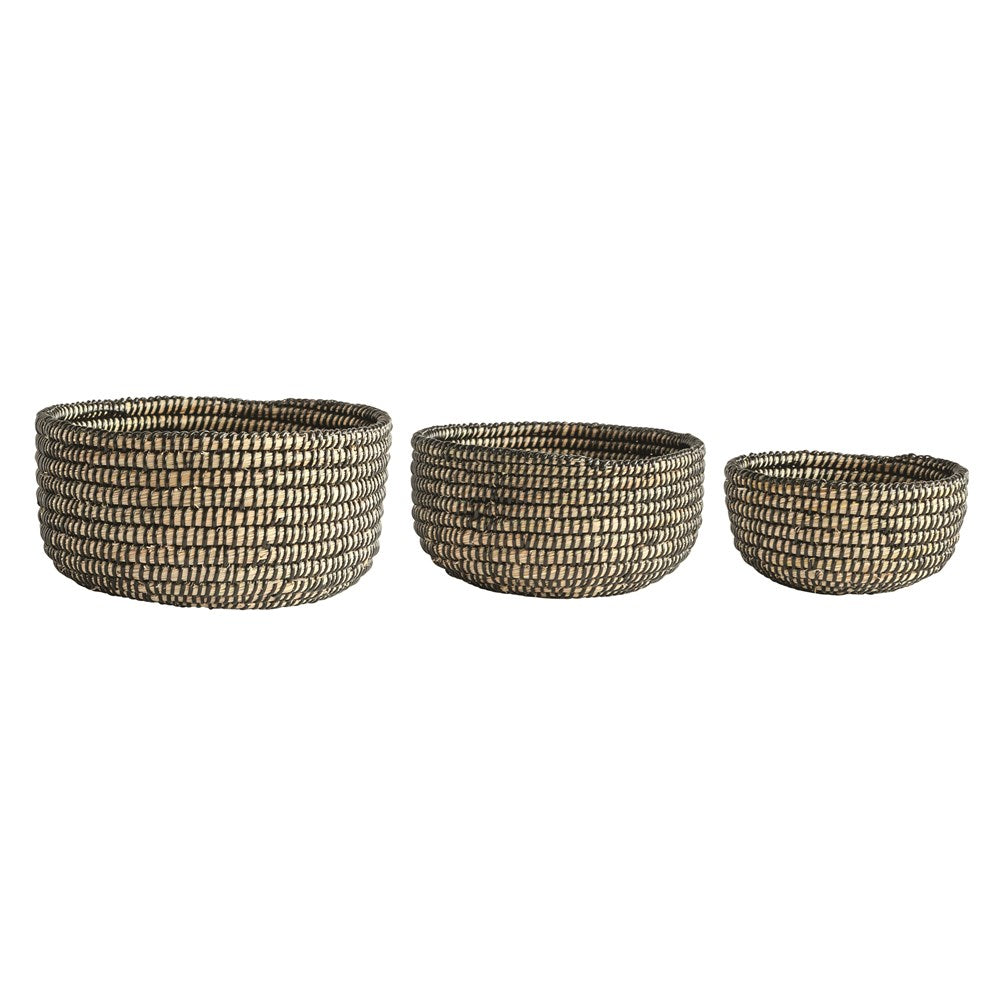 Round Seagrass Top Basket