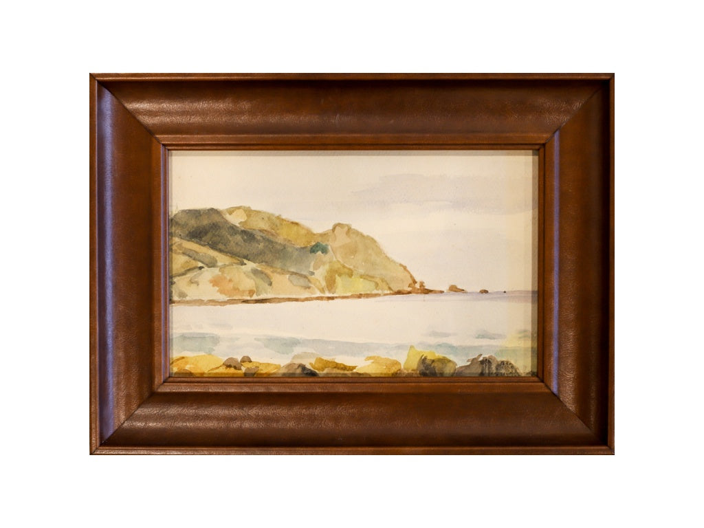 Landscape - Leather Frame