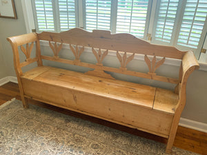 Antique Pine Bench
