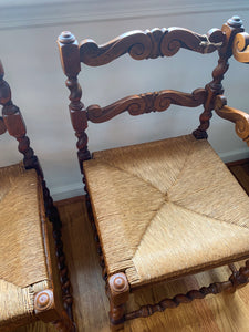 Pair of Corner Chairs