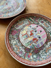 Load image into Gallery viewer, Set of 2 Antique Japanese Plates
