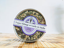 Load image into Gallery viewer, PEPPER MELANGE W/ GARLIC & HERB