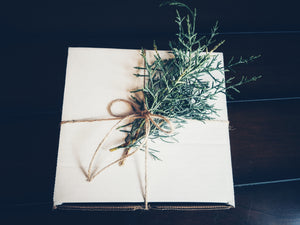 BLUE CYPRESS GIFT BOX
