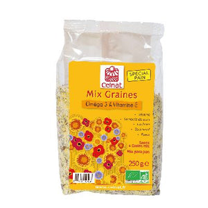 Mix Graines Antioxydant 250 G Celnat
