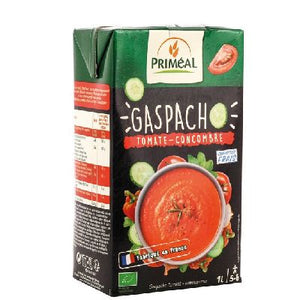 Gaspacho Tomates Concombres Primeal