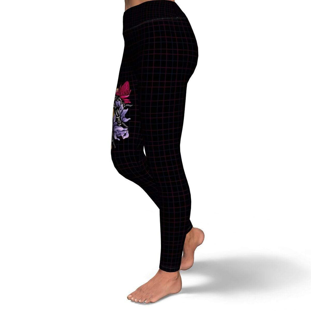 Subliminator Yoga Leggings - AOP Aphonopelma seemanni - Yoga leggings