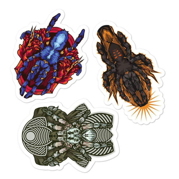 Arboreal Tarantula Sticker Pack Vol.1 - Everything Exotic