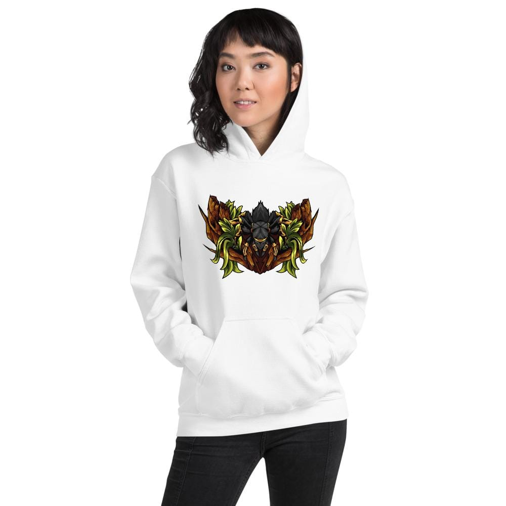 Everything Exotic White / S Grammostola pulchripes - Hoodie