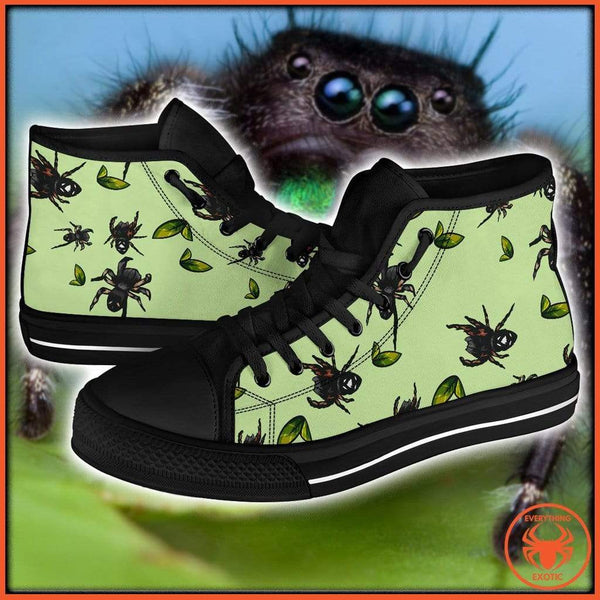 Everything Exotic Jumping Spider - Men's High Tops
