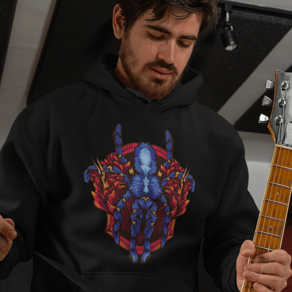 Poecilotheria metallica hoodie - Everything Exotic