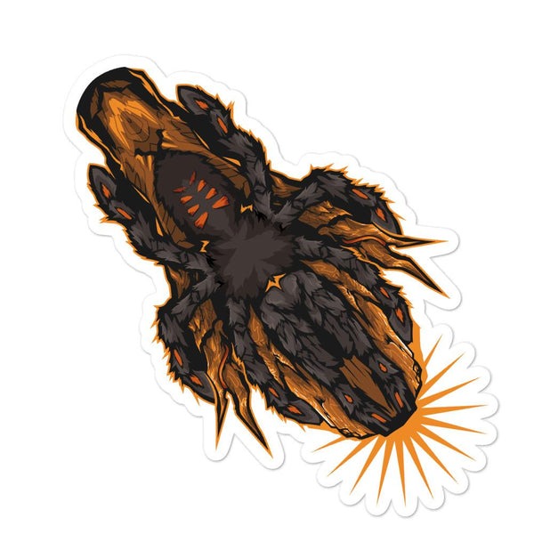 Psalmopoeus irminia sticker - Everything Exotic