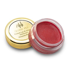 Gloss Pot Tinted Lip and Cheek Shimmer in Moonlit Rose 6g