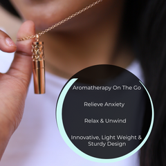 Calm Charm Aromatherapy Necklace