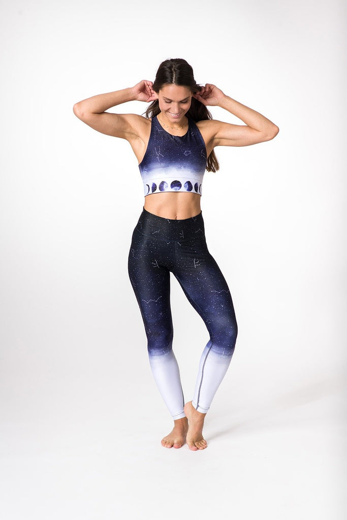 Sports Bra Ombre Moon