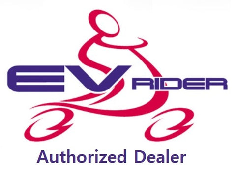 EV Rider Authorized Dealer Logo