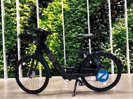 Raven Step through electric bike formerly Genze e222