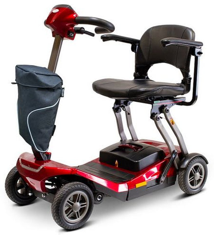 Image of EWheels EW-REMO Auto-Flex Folding Travel Four Wheel Electric Scooter