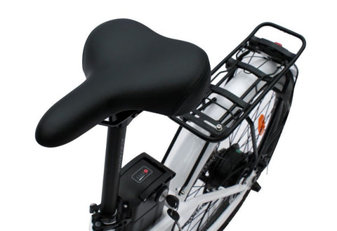 Playa saddle and rear rack