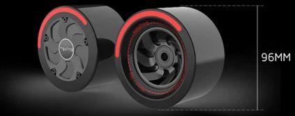 Image of wheels of Maxfind Max4 Pro Electric Skateboard