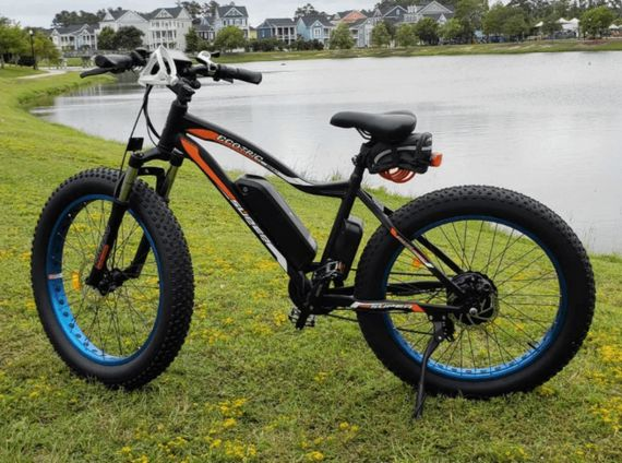 Ecotric Rocket 36V 500W Beach and Snow Fat Tire Electric Bike