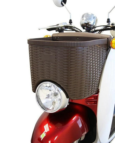 front basket of EW-11 Three Wheel Euro Style Electric Scooter
