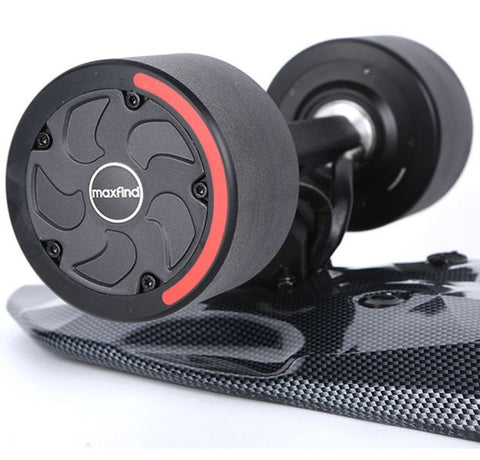Image of wheels of Maxfind Max2 Pro Electric Skateboard
