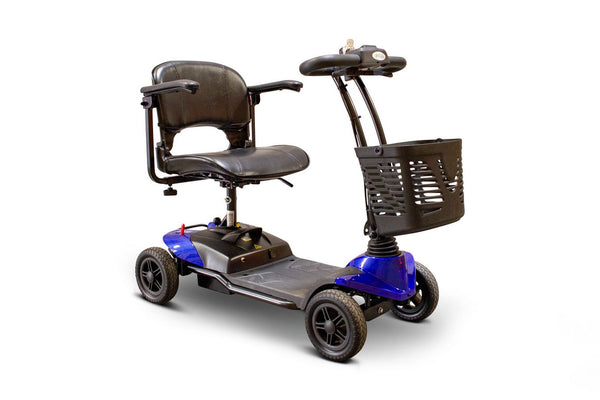 E-Wheels EW-M35 Four Wheel Electric Mobility Scooter with Basket