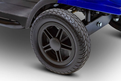 """Image of 8"""" puncture proof tires of E-Wheels EW-M35 Four Wheel Electric Mobility Scooter"""