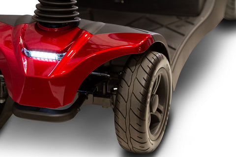 Image of LED front lights of EWheels EW-M41 4 Wheel Mobility Scooter