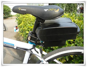 48V 10Ah Lithium-Ion Battery Rear Rack E-Bike Bicycle--Ride and Go Electrics