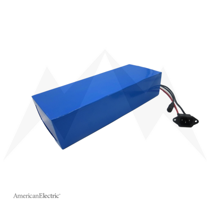 48V 17Ah Rectangle Lithium-Ion Battery Pack-AELB011-Ride and Go Electrics