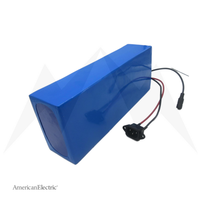 48V 30Ah Rectangle Lithium-Ion Battery Pack-AELB013-Ride and Go Electrics