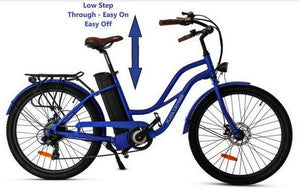 Anywhere Bikes Playa Cruiser Electric Bike (blue)
