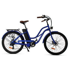 Load image into Gallery viewer, Anywhere Bikes Playa Cruiser Electric Bike (blue)