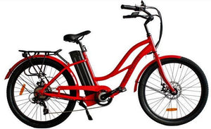Anywhere Bikes Playa Cruiser Electric Bike (red)