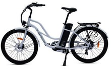 Load image into Gallery viewer, Anywhere Bikes Playa Cruiser Electric Bike (white)