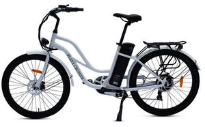 Anywhere Bikes Playa Cruiser Electric Bike (white)