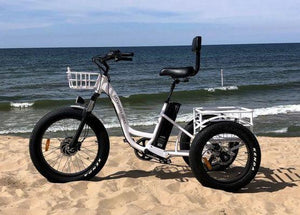Anywhere Trike Fat Tire Electric Trike Rugged Edition