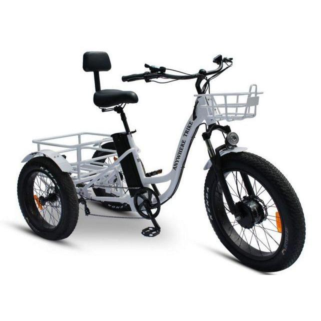 Anywhere Trike Fat Tire Electric Tricycle Rugged Edition